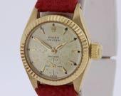 18K Yellow Gold Oyster Rolex Wrist Watch 1952