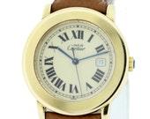 Vermeil Cartier Quartz wrist watch