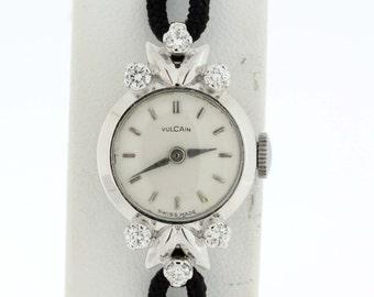 18K gold Vulcan wrist watch