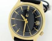 14 karat Gold Filled Accutron Wrist Watch