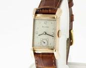14K Rose Gold Bulova Wrist Watch