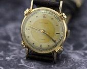 Gotham 14K Gold Wrist Watch