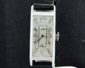 Platinum Paul Ditisheim Diamond Dial Wrist Watch