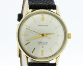 14K Gold Chevrolet Lord Elgin Wrist Watch