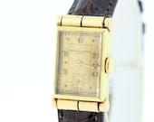 14K Yellow Gold Vacheron and Constantin Geneve Wrist Watch