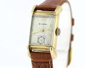 10K Gold Filled Bulova Wrist Watch