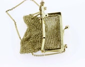 14K Gold Chain-link Purse/Coin Bag