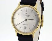 Intra-Matic Hamilton Wrist Watch Stainless Steel Case  Skeleton
