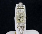 Robbins's 14K Gold and Pave Diamond Wrist Watch