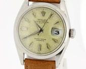 1955 Stainless Steel Rolex Wrist Watch