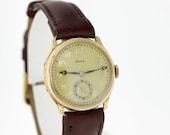 Doxa 14K Gold Vintage Wrist Watch