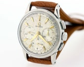Omega Tachymetre Stainless Steel Wrist Watch