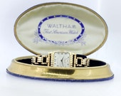 10K Gold Filled Waltham Wrist Watch
