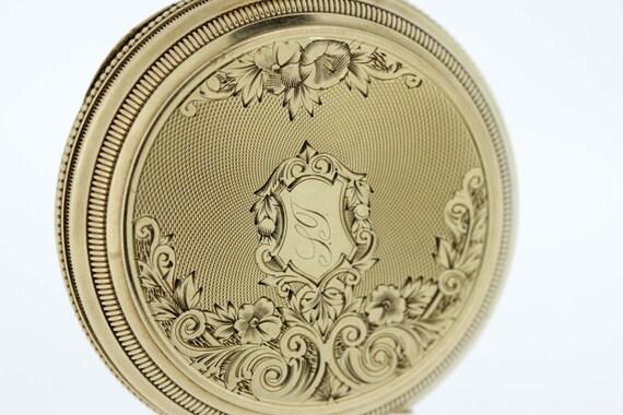1874 American Watch CO. Pocket Watch 14K Gold Hand