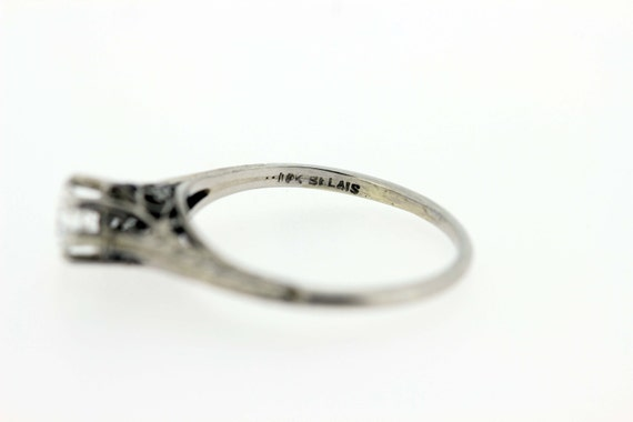 18K Gold Diamond Solitaire Ring  - image 3