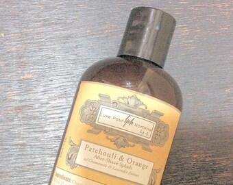 Patchouli and Sicilian Blood Orange Aftershave Splash - Bump Fighter - Vodka and Jamaican Rum - 9.3 oz
