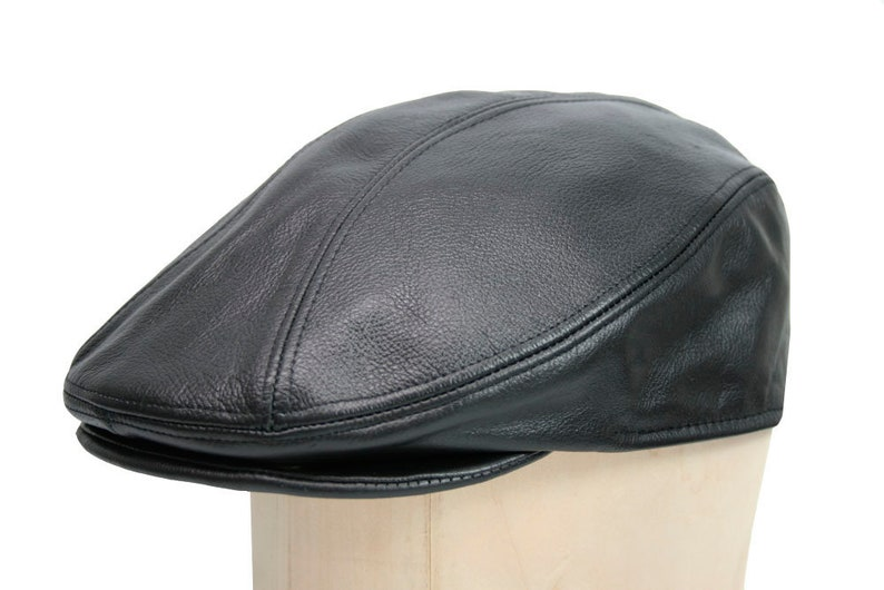 545fb794 Leather Ascot Ivy Driver Cap Made in USA Various Colors | Etsy