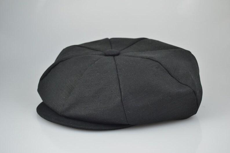 a623fc3b12862 Linen Applejack Newsboy Cap Hat Various Colors Made in USA
