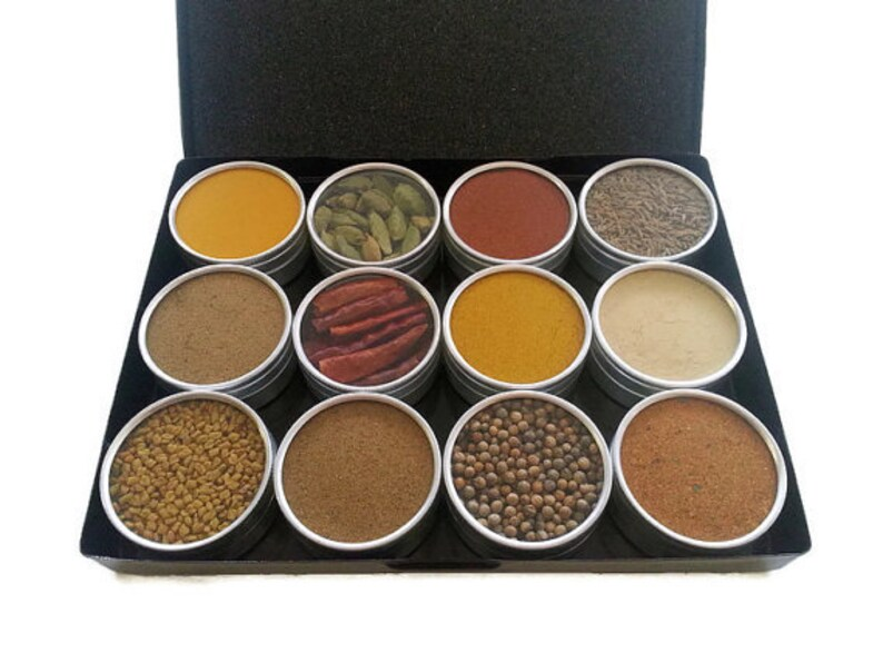 INDIAN SPICE KIT Spice Gift Box For Her Indian Flavors