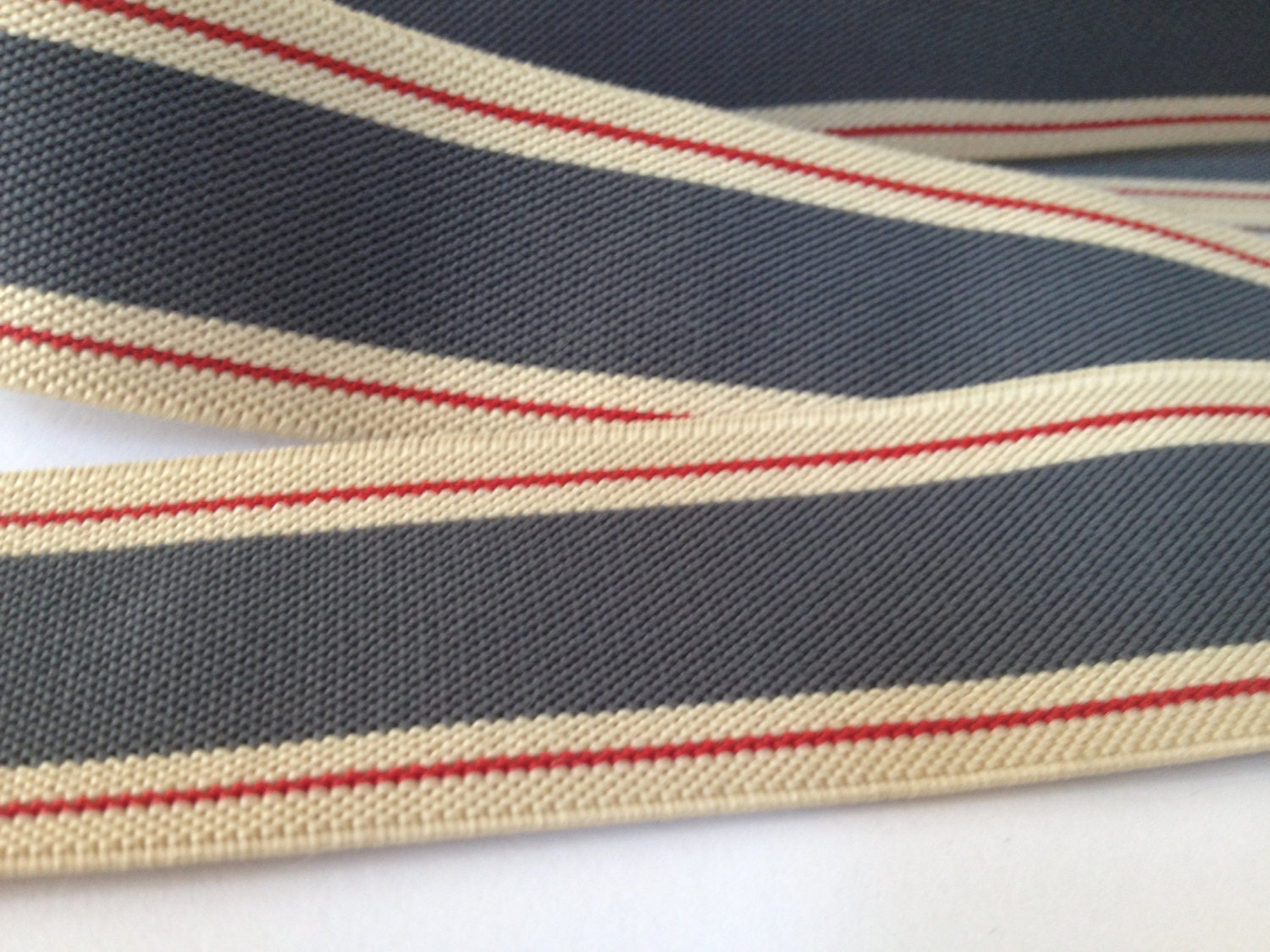 Striped Elastics, elastic for suspenders, elastic by the yard ...