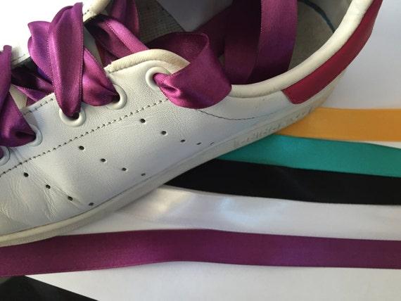 Satin-Schuhe süße Schnürsenkel Puma-Schuhe Satin-Schnur mit | Etsy