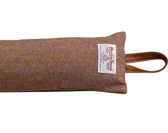 Brown Classic Home Store Soft PVC Leather Look Draught Excluder French Patio Door Long Draft Stopper 3ft