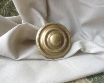 antique French brass doorknob / architectural salvage