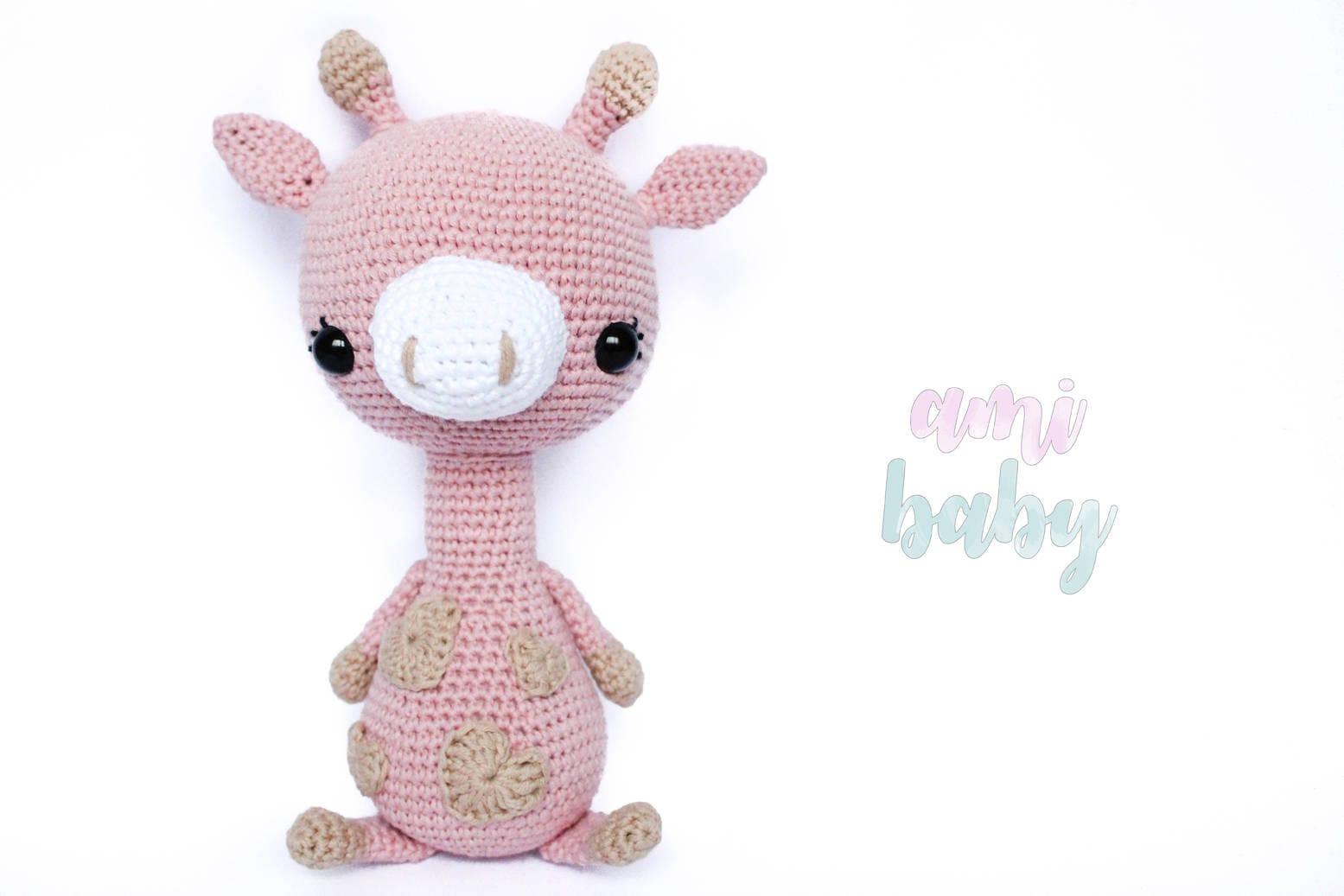 Animal de peluche peluche jirafa amigurumi jirafa juguete | Etsy