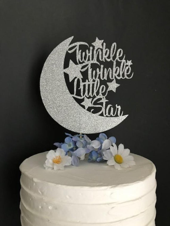 Twinkle Little Star Cake Topper Baby Shower