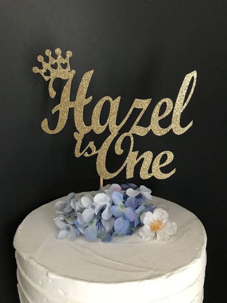 First Birthday Cake Topper Princess Party Smash