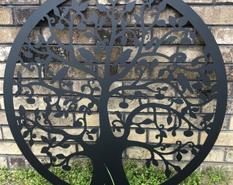 Outdoor Metal Wall Art Etsy