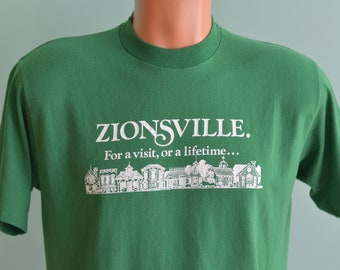 8aa54b76b9839 80s T-Shirt Soccer Shirt Zionsville Indiana Youth Soccer | Etsy