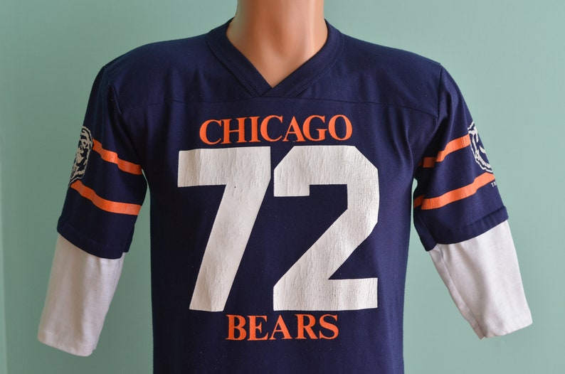 info for 3c0fd bcb9e Vintage 80s Jersey Chicago Bears William Perry #72