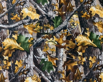 Realtree Fabric Camo in Seaglass Blue From Sykel 100/% Cotton Premium Quality