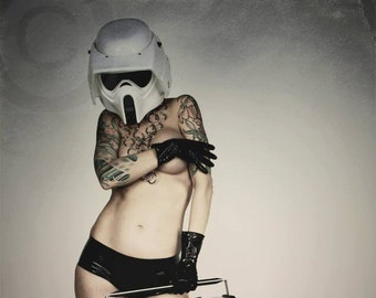 SIGNED PRINT - I am the DJ you are looking for