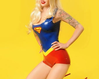 SIGNED PRINT - Supergirl