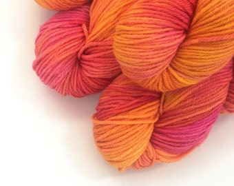 Day Off - Merino Worsted Weight Hand Dyed Yarn