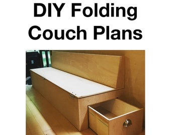 DIY Folding Couch Plans