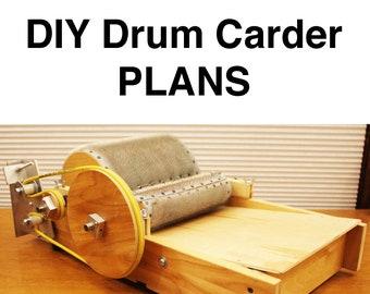 DIY Drum Carder Plans