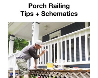 Simple Porch Railing Building Tips and Schematics