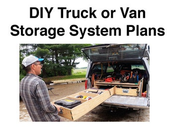 Truck Bed Storage Drawers - PLANS