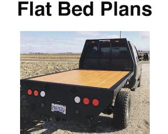 DIY Flatbed Plans
