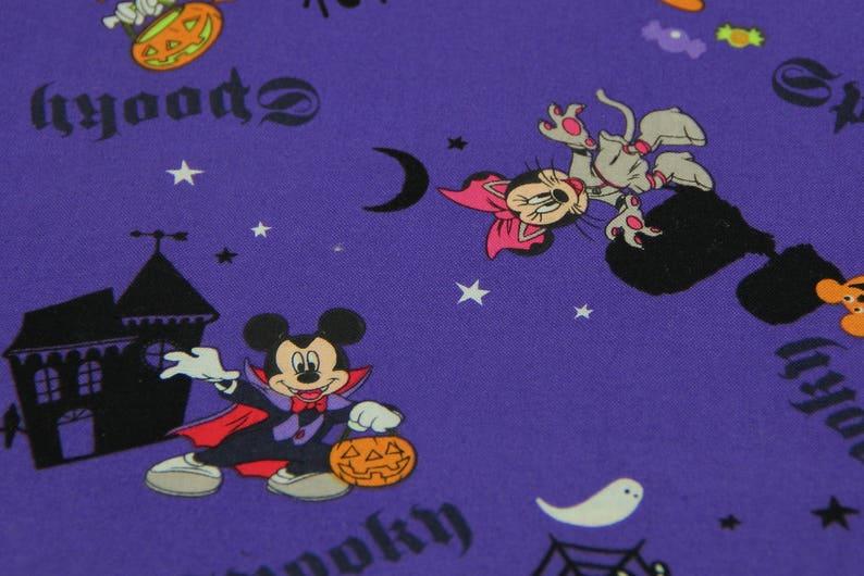 DISNEY HALLOWEEN DOG Bandana Over the Collar Mickey Mouse Dog Bandana Minnie Mouse Halloween Dog Bandana Disney Holiday Dog Bandana Pet Gift