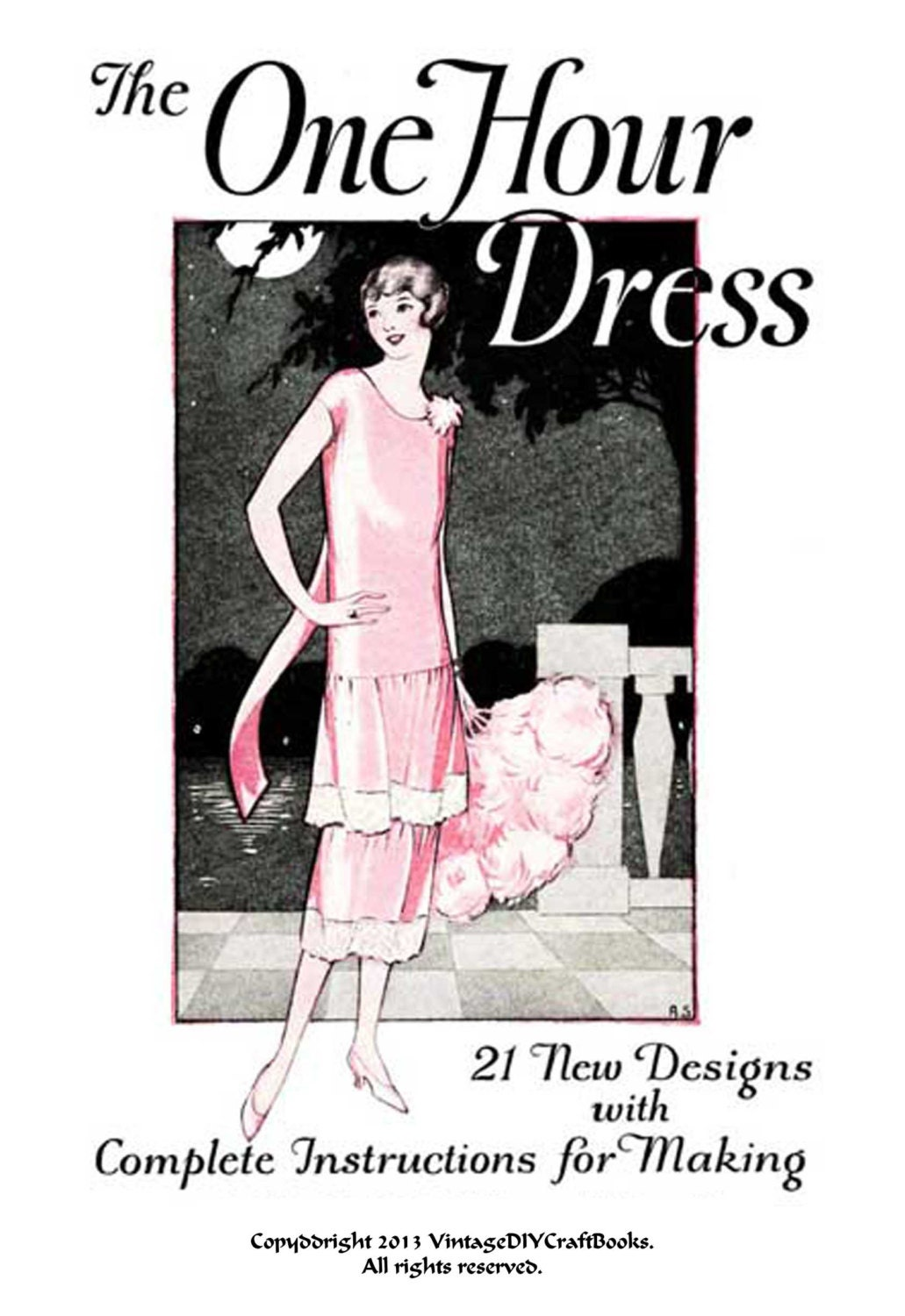 Flapper One Hour Dress PDF Book DIY Sewing without a ...