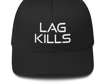 size 40 b6c11 def34 Funny Lag Kills Gamer Video Game Hat Cap, Geek Nerd Geeky Geekery Nerdy Hat,  Online Gaming, Gift for Him Boyfriend, Gamer Girl