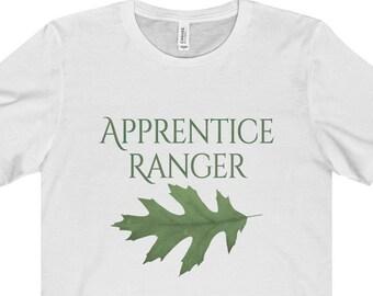 Apprenti Ranger Shirt - apprenti de Ranger - unisexe à manches courtes Tee - feuille de chêne