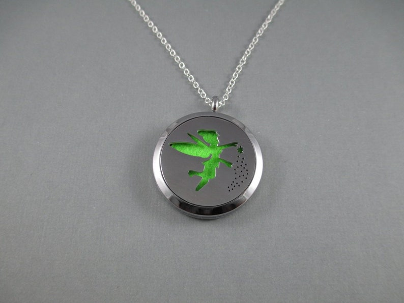 Fairy Tinker Bell Fantasy Stainless Steel Essential Oils image 0