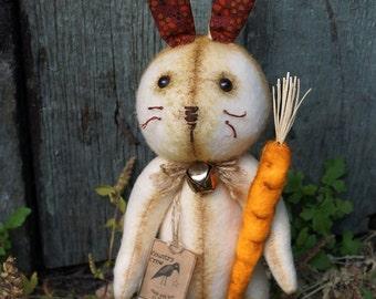Textile Doll PDF Digital Pattern 'Herbie the Rabbit' Home Decor
