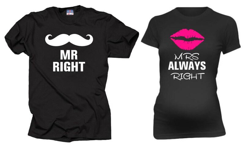 9eb1d84bd Embarazo pareja camisetas maternidad papá Sr. la derecha y