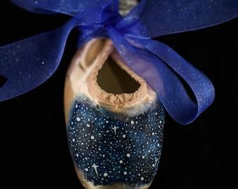 Midnight Pointe Shoe